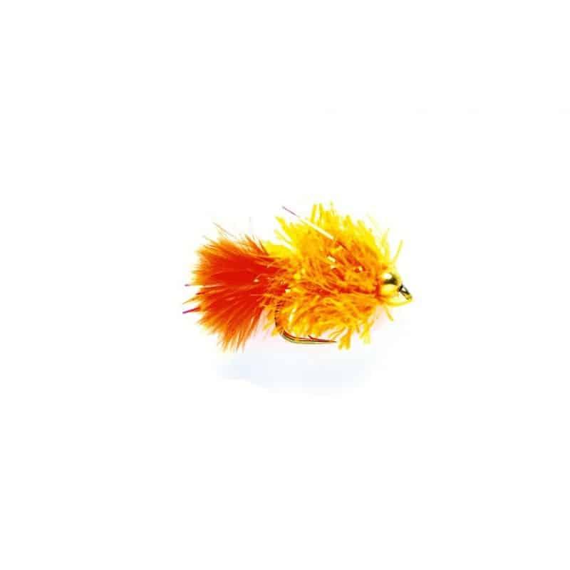 Blob orange casquée