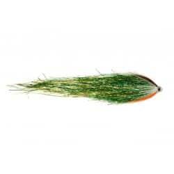 Mouche à brochet Pike Tube Green n Gold Fulling 35cm