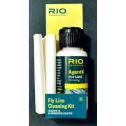 Kit de nettoyage de soie Rio Agent X