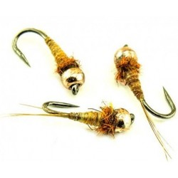 Micro nymphe Rusty Brown
