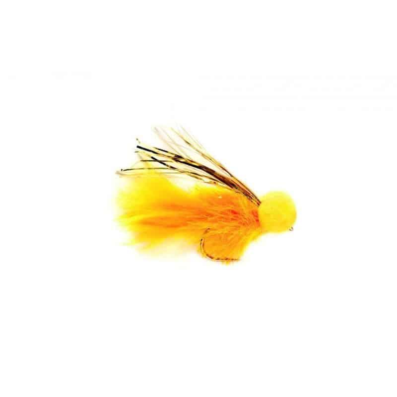 Mouche réservoir Booby sunburst & gold