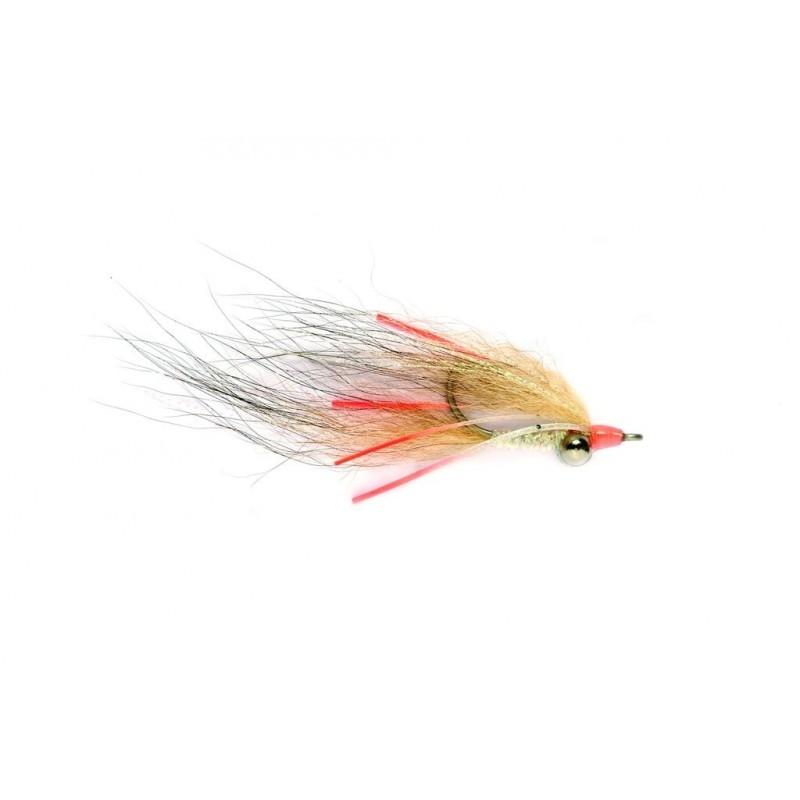 Mouche bonefish Clouser Foxy Hot Legs