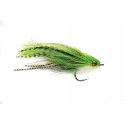 Streamer carnassier Slaters half and half baitfish chartreuse