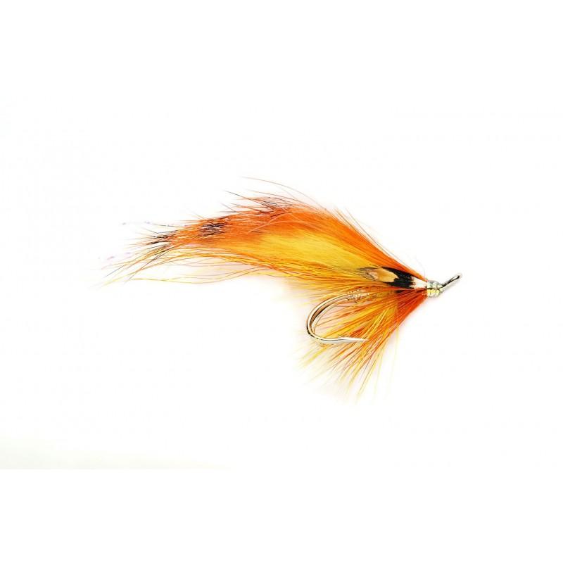 Mouche saumon TigerBack Flamethrower