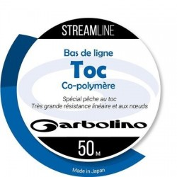 Nylon Garbolino Toc Streamline transparent