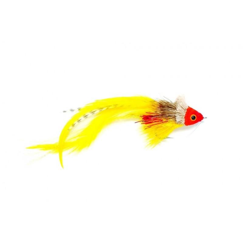 Mouche carnassier Swimming Bait Fish Red & Yellow
