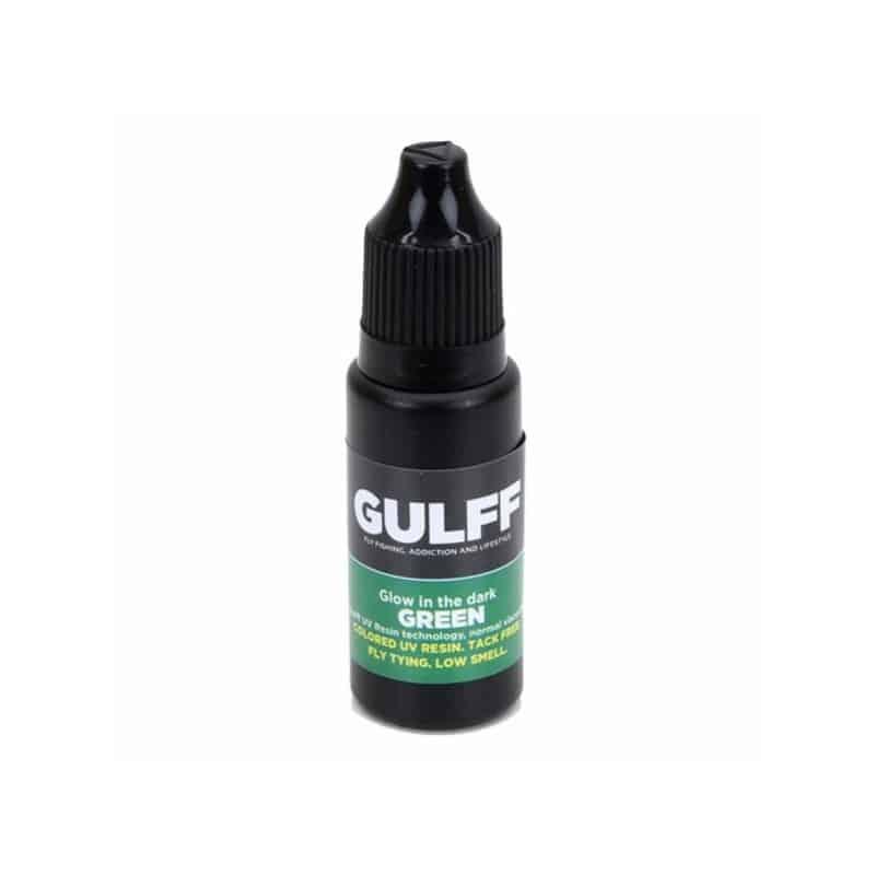 Résine UV GULFF 15 ml phospho glow in the dark