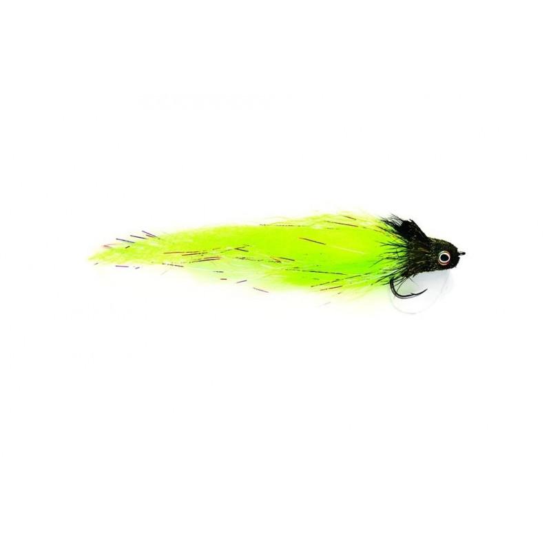 Streamer borchet monster Dahlberg diver chartreuse