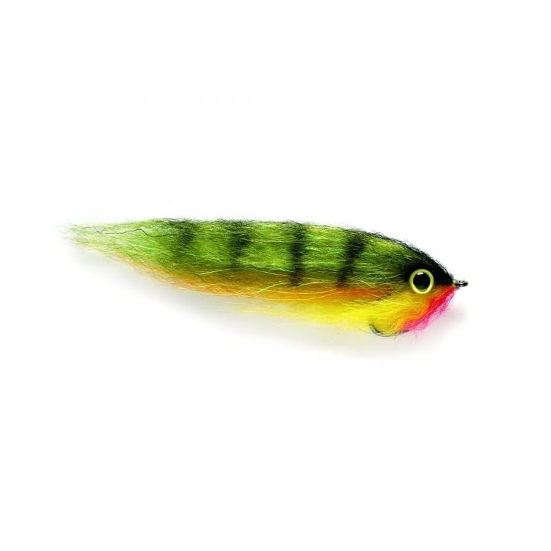 Streamer brochet baitfish yellow