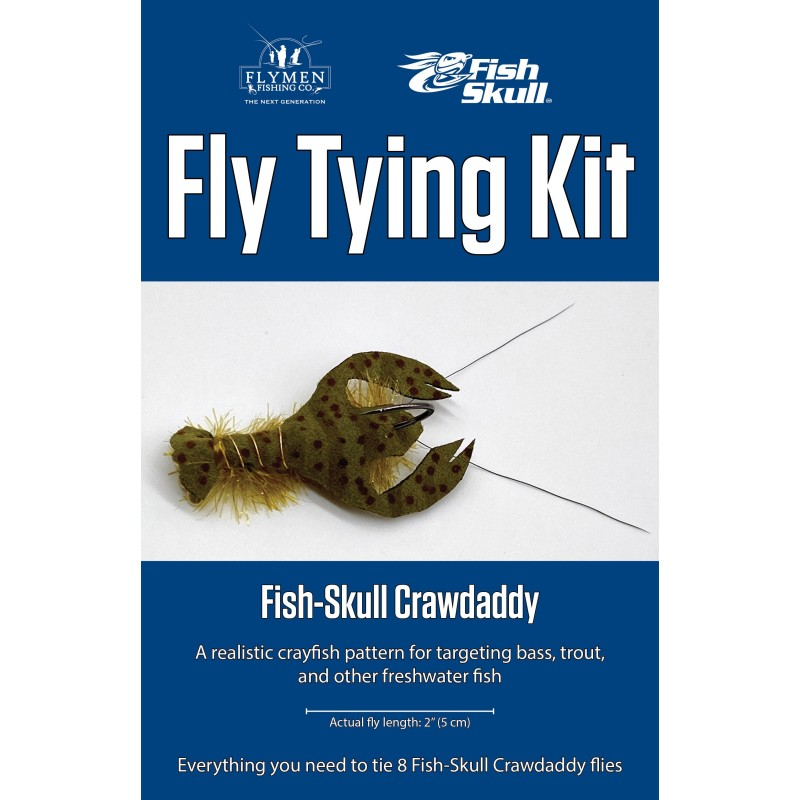 Kit de montage Fish Skull Crawdaddy