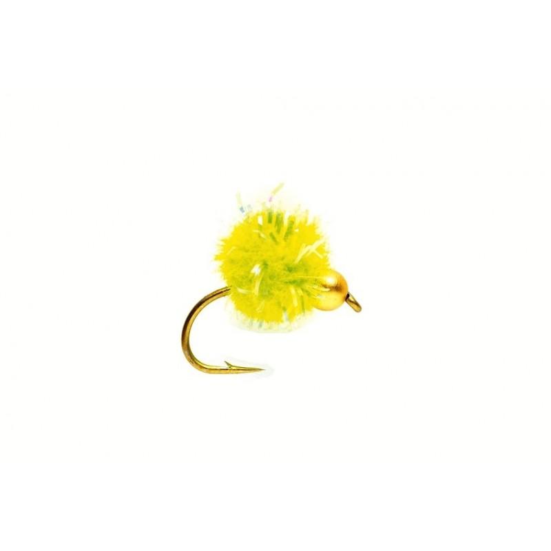 Mouche réservoir oeuf krystal chartreuse